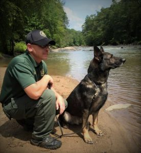 Mike Barnhill with Sgt Ace